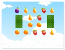 Fruit farm shooting sunny fresh fruit ballistic game