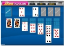Speed Solitaire time trial cards game logical puzzle