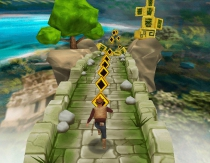 Tomb Runner running game Indiana Jones Tom Raider run and jump