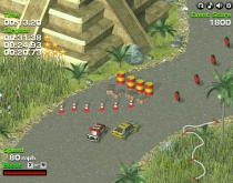 Turbo Rally 3D Top-down third-person view driving game