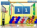 World Basketball Championship fun sports game cat play in basketball