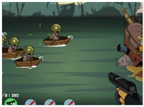 Zombudoy 3 Pirates shoot zombie funny shooter game