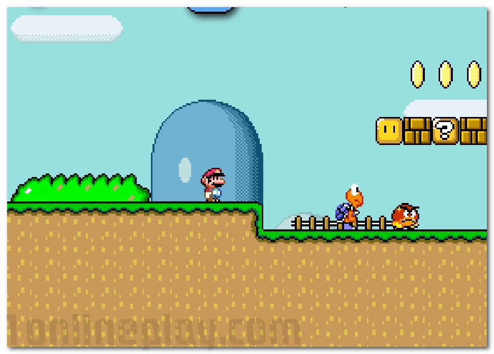 play free games online super mario world