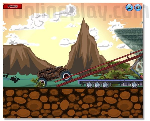 Motor Beast monster truck racing game image play free