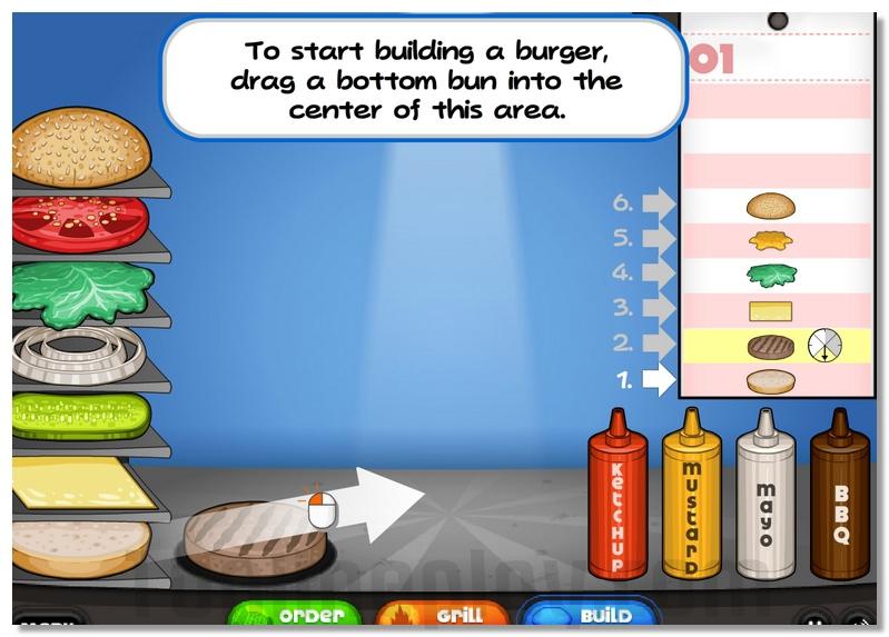 Papa039s Burgeria simulator emulator image play free