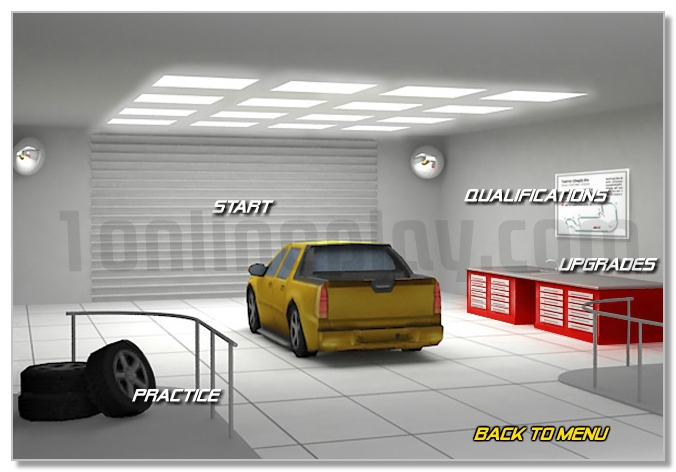 Pick up Truck racing game drive your car win GP of the race image play free