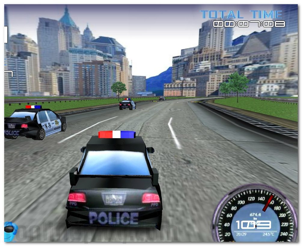 Police Test Driver racing game drive the fastest police cars image play free