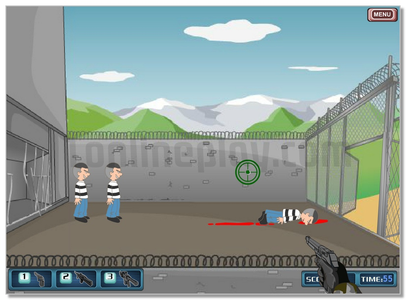 Prison Escape online shooter game image play free