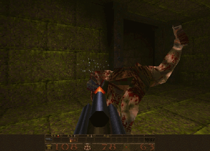 Quake 1 shooter first person shooter flash online game image play free