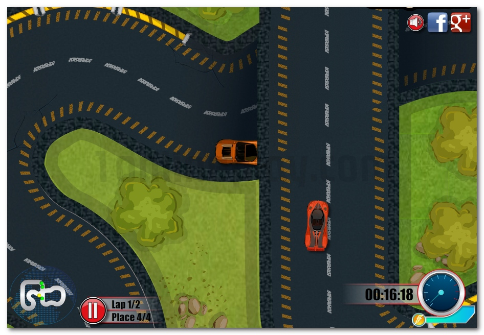 Race Around the World driving car online game image play free