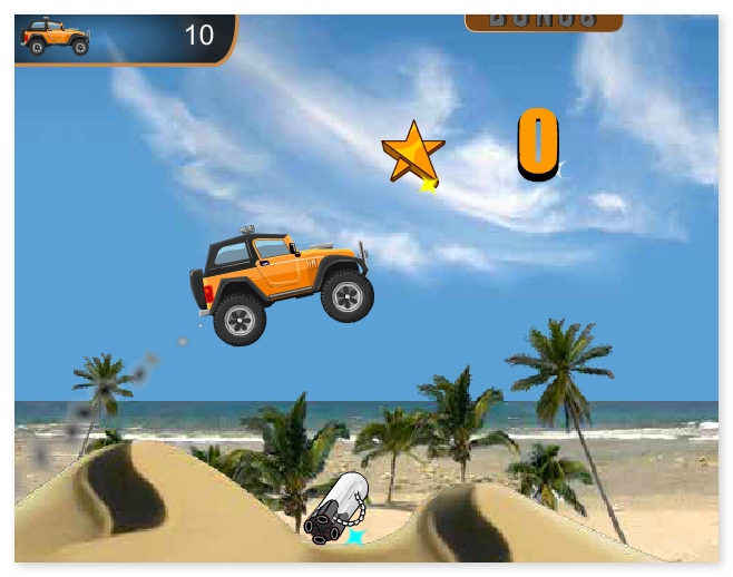 Rocky Rider driving car truck racing game image play free