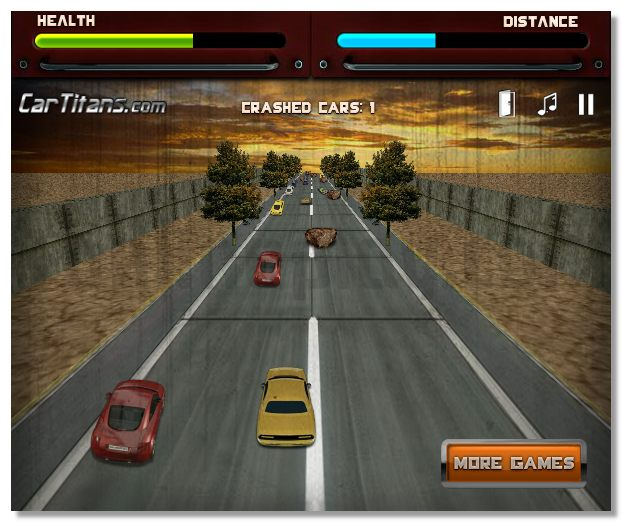 Russian Road Rage 3D on way racing game avoid crash image play free