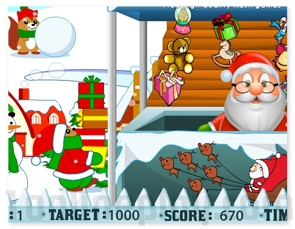 Santa Gift Shop Holidays Christmas game for girls and boys image play free