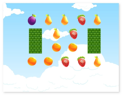 Fruit farm shooting sunny fresh fruit ballistic game image play free