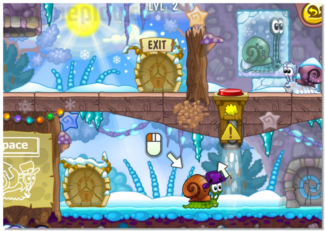 Snail Bob 6 Winter Story sixth edition of the popular adventure logical game image play free