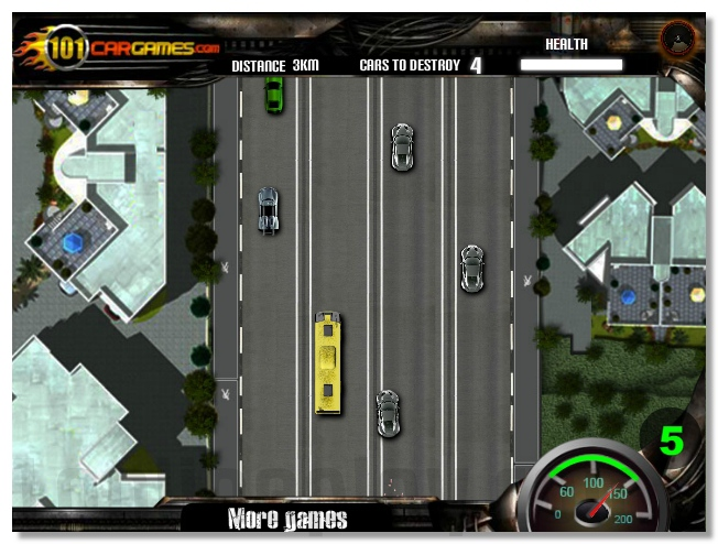 Speed Bus drive bus game racing image play free