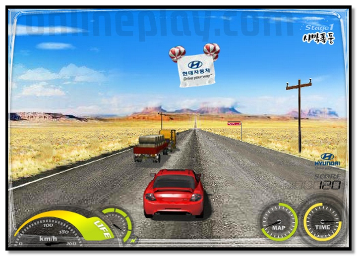 SpeedShot Rally Racing Driving game with your Honda car image play free