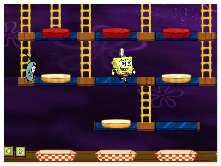 SpongeBob SquarePants Patty Panic free online adventure game image play free