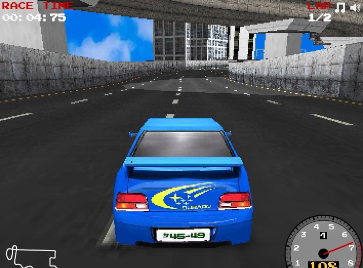 Super Drift 3D part 2 annular NASCAR car racing image play free