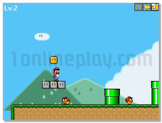 super mario world online game