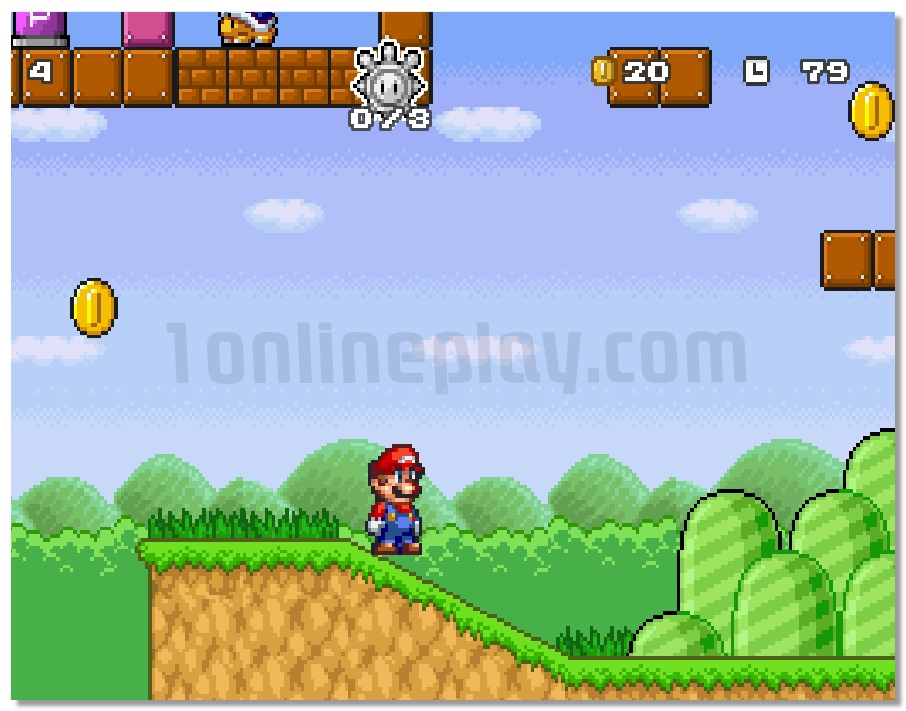 super mario online game