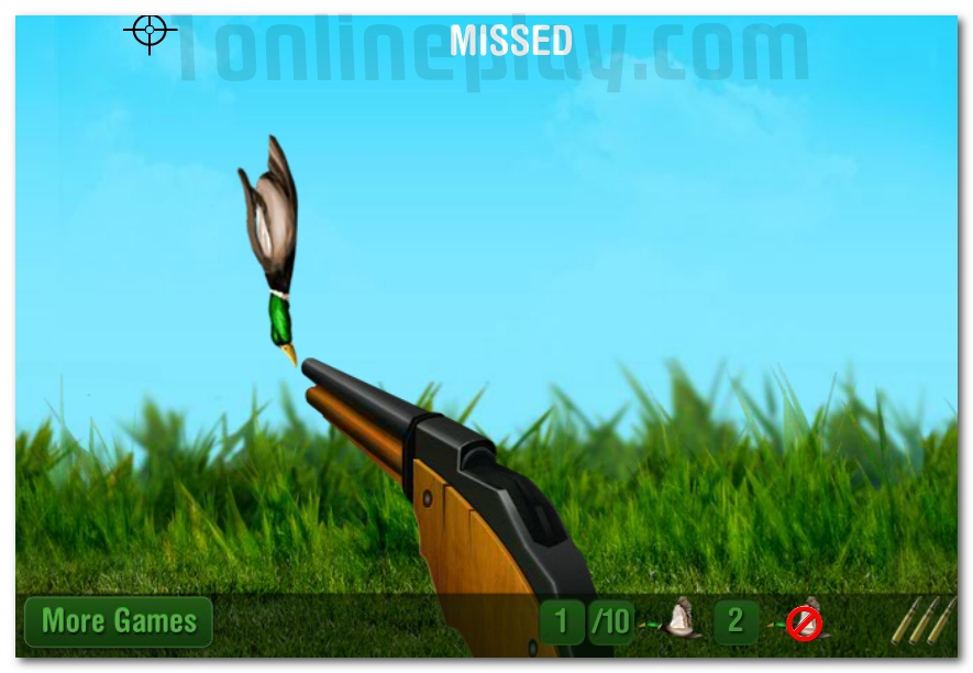 The Duck Hunter online hunting game image play free