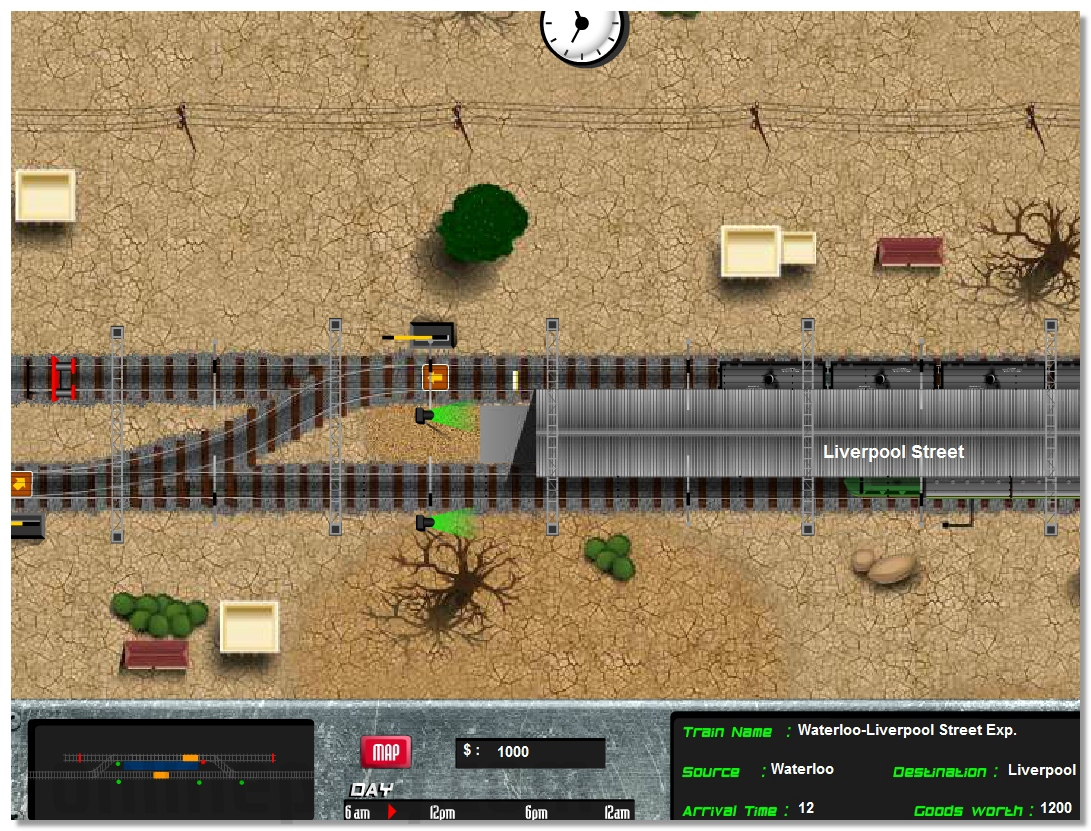 Train Traffic Control logical strategy online game image play free