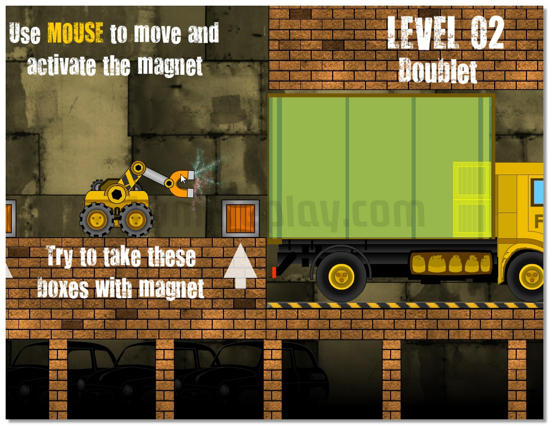 Truck Loader parking driving game image play free