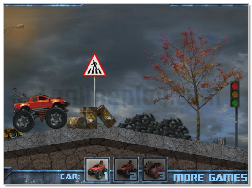 Trucksformers truck racing game destroy other cars image play free