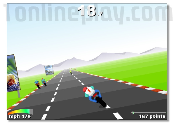 Turbo Spirit motorcycle racing game GP series image play free