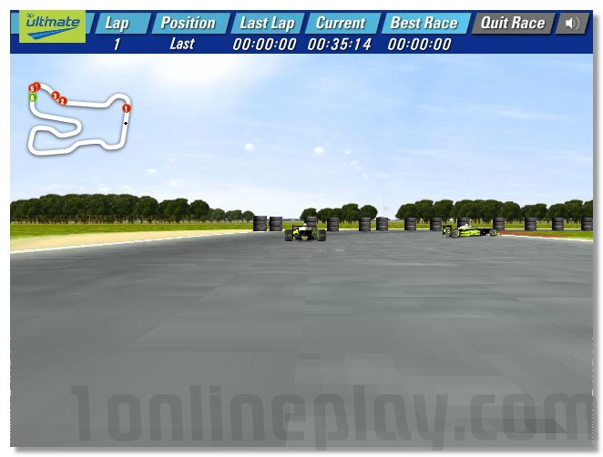 Ultimate Formula Racing sports car driving game image play free