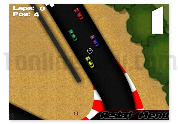 USS Racing 2 mini cars driving game annular racing image play free