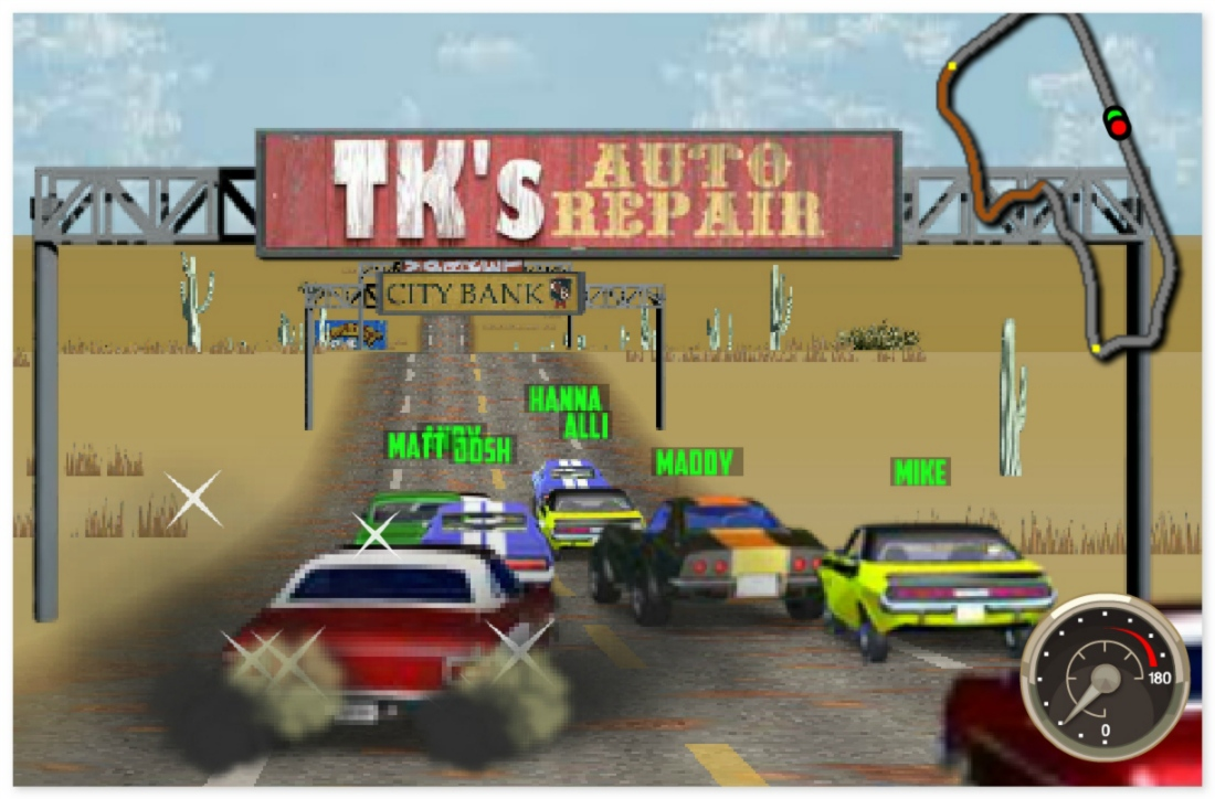 V8 Muscle Cars image play free