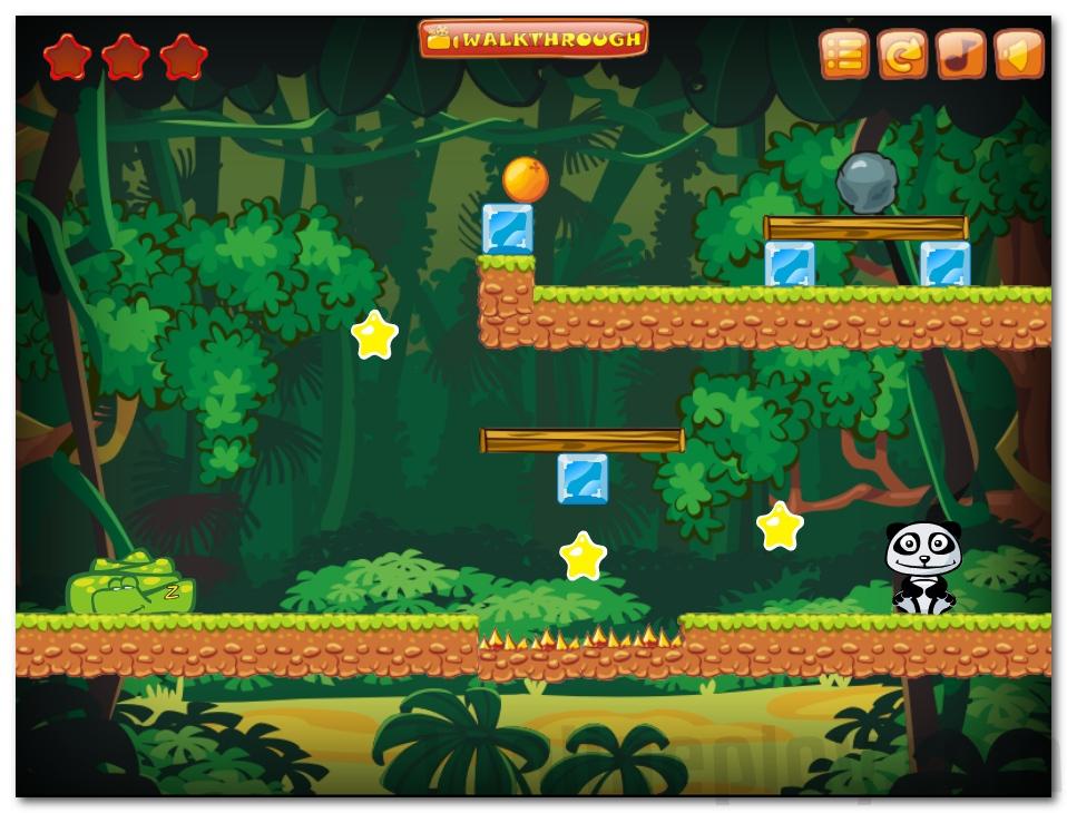 Wanna Oranges help Panda image play free
