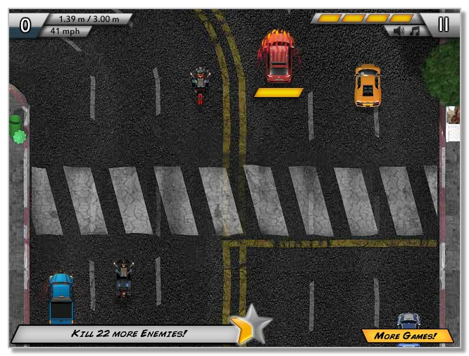 Wreck Road aggressive racing online game image play free