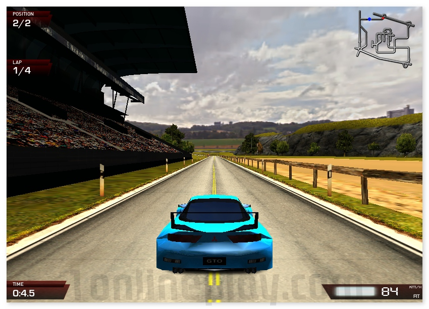 X Speed Race 2 annular american racing drive sport car image play free
