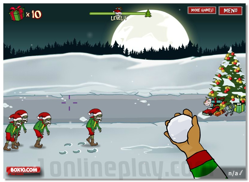 Zombudoy 2 Christmas Holidays fun shooting game image play free