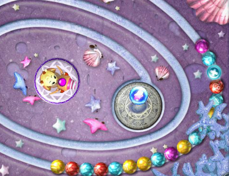 Zuma Underwater - three in a row color balls game image play free