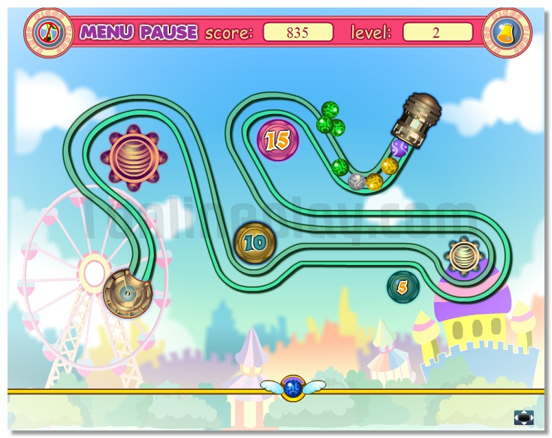 Zuma balls zuma like game with some bonuses image play free