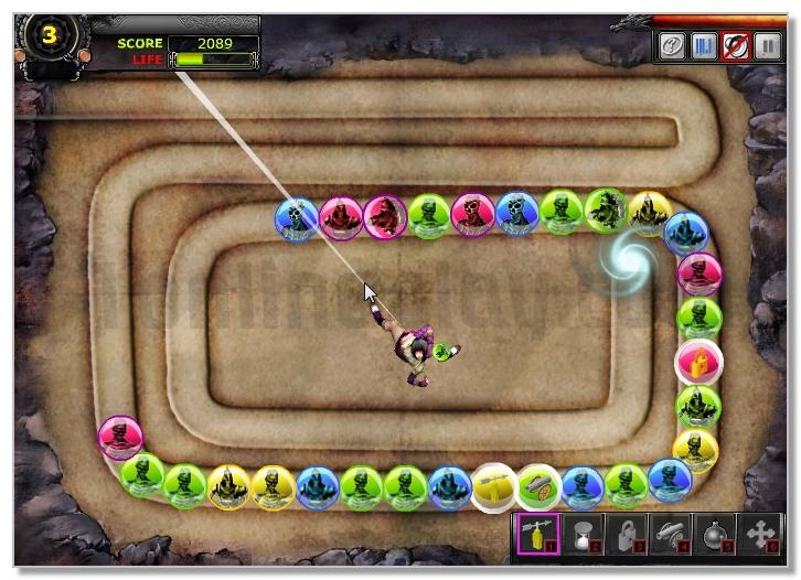 9 Dragons Charm Zuma Game image play free
