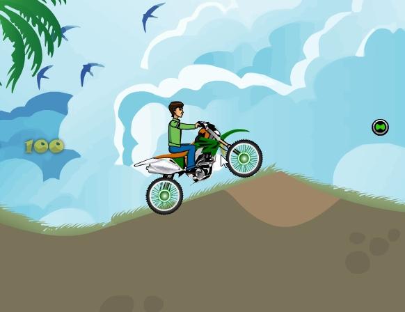 Ben10 Motocross 2 image play free