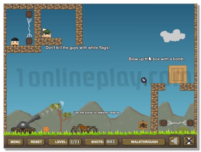 Helmet Bombers part 3 ballistic fun game image play free