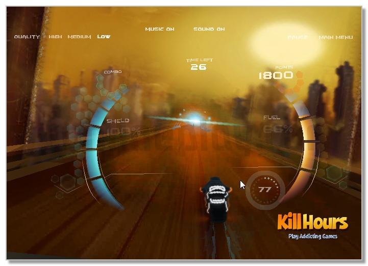 Modern Moto Racers 3D slalom racing game image play free