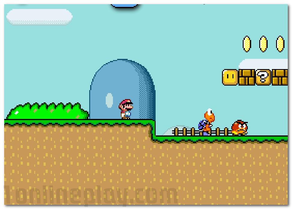 Monoliths Mario World 2 retro adventure game Super Mario image play free
