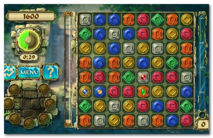 Montezuma Treasures new puzzle game image play free