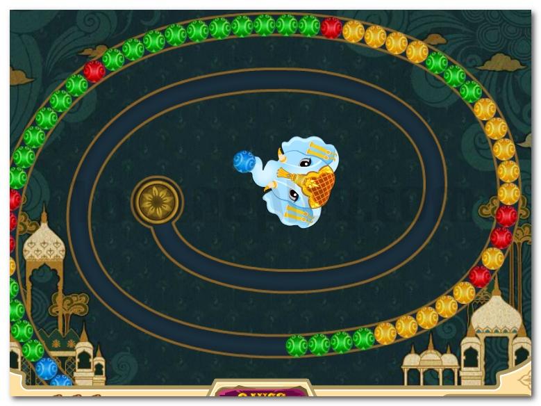 Zuma Mystic India Pop 3 match game image play free