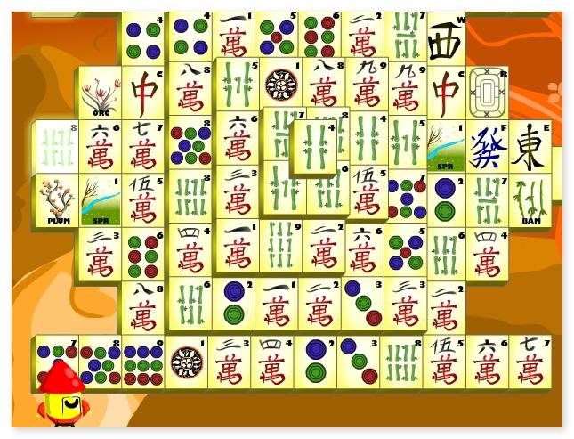 Naos Shanghai Mahjong find pair puzzle game image play free