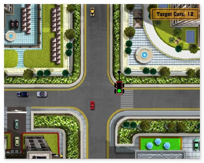 LA Traffic Mayhem control the road in LA image play free