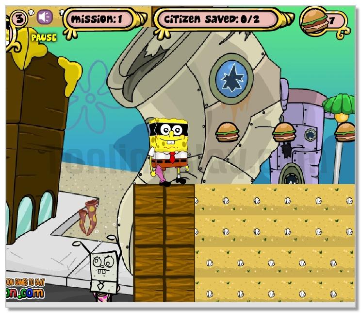Spongebob M-mask Adventure image play free