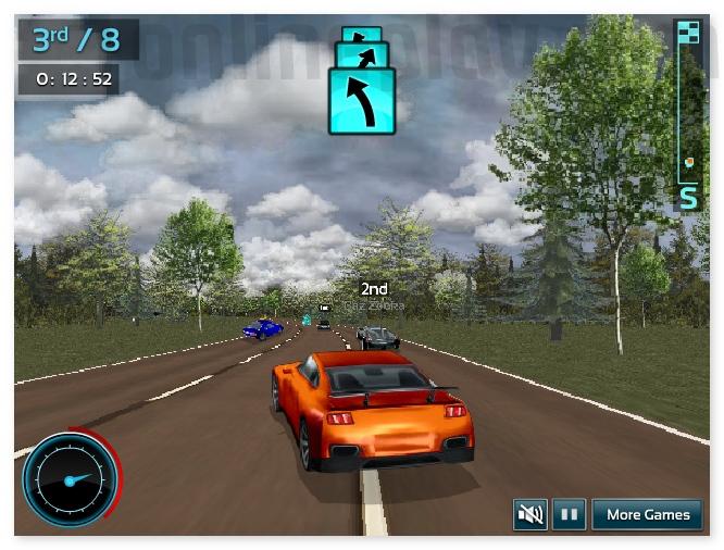 Car Games Supercar Road Trip